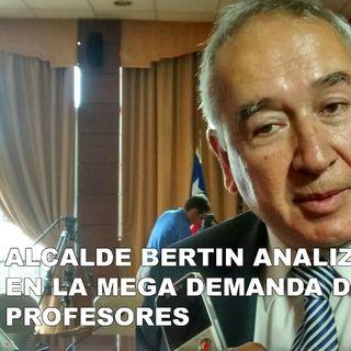 ALCALDE JAIME BERTIN EN LA MEGA 90.3 FM OSORNO PROFESORES