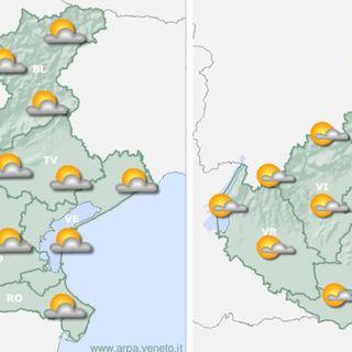Previsioni meteo, sole d'agosto con rade nubi fino a venerdì. Poi tempo instabile