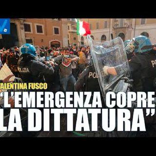 L'Emergenza Copre la Dittatura - Valentina Fusco - Personaggio del Giorno - Visione TV