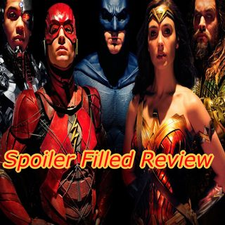 """""""Am I STILL On The Air?"""" Justice League SPOILER Review"""