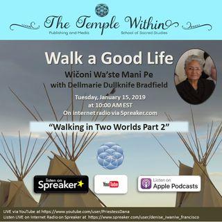 Walking in Two Worlds II with Dellmarie Dullknife Bradfield