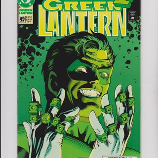 "Source Material #210 - Green Lantern ""Emerald Twilight"" (DC, 1993)"