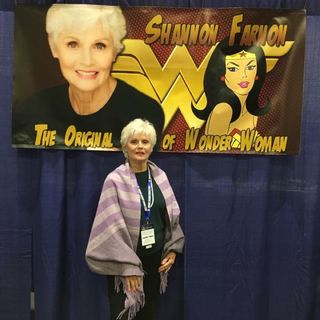 Shannon Farnon first actress to voice Wonder Woman #Superfriends