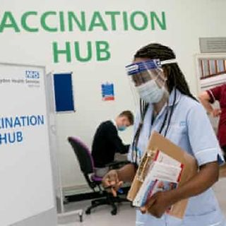Allergy Warning After Two NHS Take C-19 Vaccine. Let's Discuss!🧐