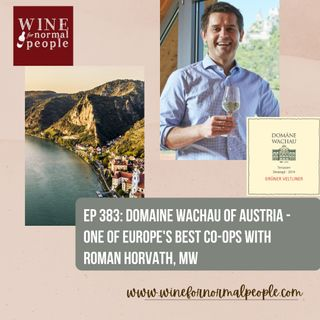 Ep 383: Domaine Wachau of Austria - One of Europe's Best Co-Ops with Roman Horvath, MW