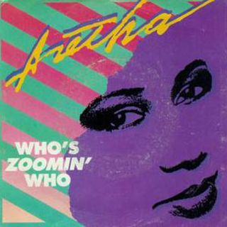 Aretha Franklin Who's Zoomin' Who Meaning - 1:1:19, 7.42 PM