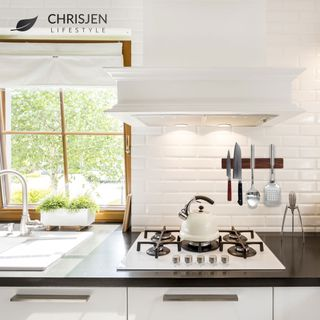 Chrisjen lifestyle magnetic knife holder installation