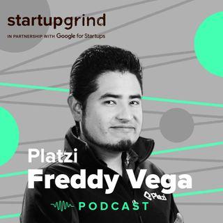 Freddy Vega Co-founder Platzi @StartupGrind Bogota