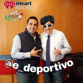 Pepe Segarra y Alex Cervantes en Espacio Deportivo de la Tarde 19 de Noviembre 2019