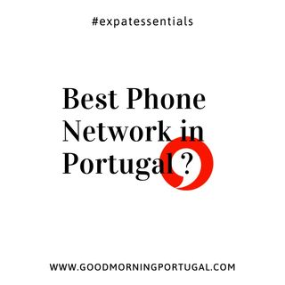 Best Mobile Network? - Portuguese Positive News on Good Morning Portugal!