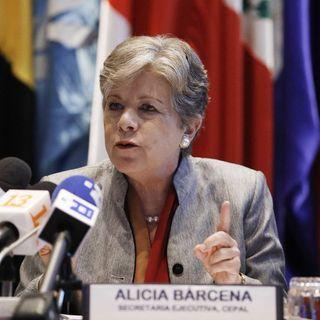 Respalda directora de CEPAL políticas sociales de AMLO