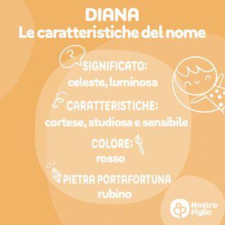 Diana nome per bambina. Significato, Origine e Onomastico