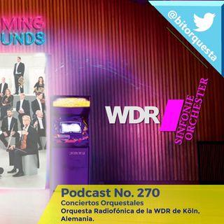 270 - Orquesta Radiofónica de la WDR Köln, Alemania