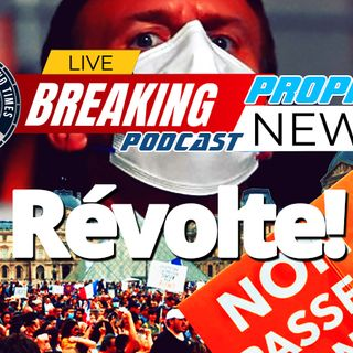 NTEB PROPHECY NEWS PODCAST: Riots Against Vaccine Tyranny In Europe As CDC Withdraws PCR Test That Cannot Distinguish Between COVID And Flu