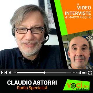 CLAUDIO ASTORRI: L'ASCOLTO DELLE RADIO CON E SENZA CANALE TV - clicca PLAY e ascolta l'intervista