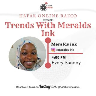 Trends with Meralds ink