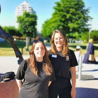 Jessica och Lisa från Fältgruppen berättar om arbetet med ungdomar