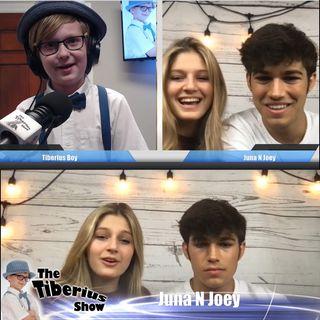 The Tiberius Show EP 147 Juna n Joey