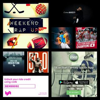 Weekend Rap Up Ep. 47: #Mayweather Is TBE '50-0'