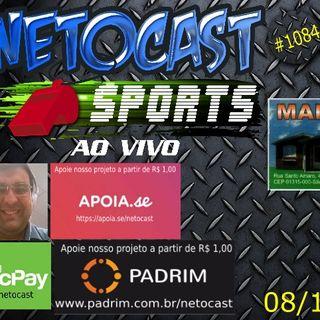 NETOCAST 1084 DE 08/11/2018 - ESPORTES