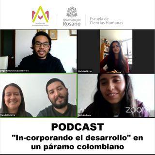"""In-corporando el desarrollo"""" en un páramo colombiano"""