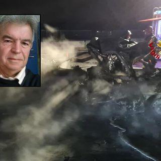 Morto carbonizzato nell'incidente in A4: è un 67enne di Montecchio Maggiore