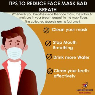 Effective ways to reduce face mask bad breath
