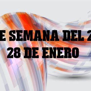 FIN DE SEMANA DEL 26 AL 28 DE ENERO 2018 PREPARANDONOS PARA EL ECLIPSE DEL 31 DE ENERO TIPS Y MUCHO MAS