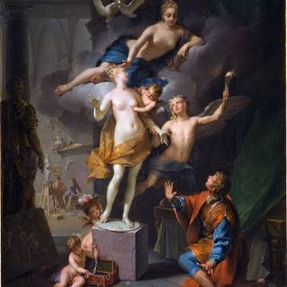 The Myth Of Pygmalion and Genuine Love- اسطورة بيجمليون و الحب الصادق