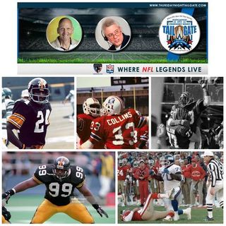 Talking Super Bowls Past & Present with 4 NFL Legends on Thursday Night Tailgate