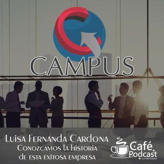 #MrPodman - Organización CAMPUS la empresa que desarrolla sus eventos #CAMPUS
