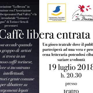 RBE on Tour - A Torino, lo spettacolo Caffé Libera Entrata