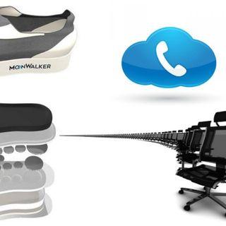 Zapatillas que ponen a prueba la ley de gravedad, sillas que se ordenan solas y tarjetas SIM tienden a desaparecer
