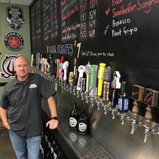 Steve Hamlet - growlers, draft beer vs wine, business and his years in the service of our country.