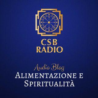 Alimentazione e Spiritualità