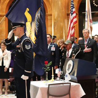 Veterans Honored At State House Ceremony