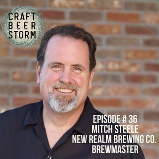 Episode # 36 - Mitch Steele, New Realm BrewMaster (ex- Stone BrewMaster)
