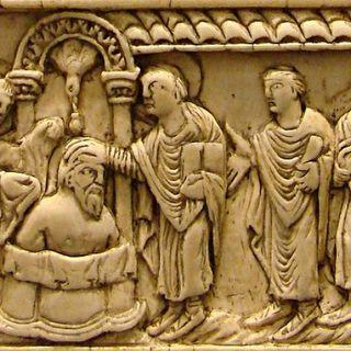 160 - Il battesimo e la consacrazione di Re Clodoveo