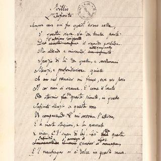 """E. Marcuccio legge """"L'infinito"""", di Giacomo Leopardi"""