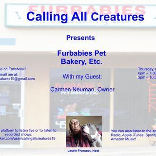 Calling All Creatures Presents Furbabies Pet Bakery, Inc.