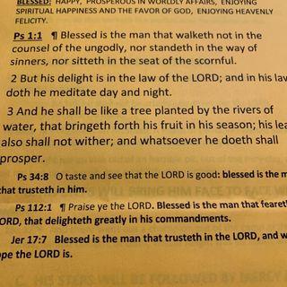 Episode 9 - Strength Through The Scriptures