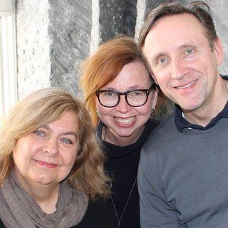 Annika Sundberg, Göran Everdahl och Maja Aase