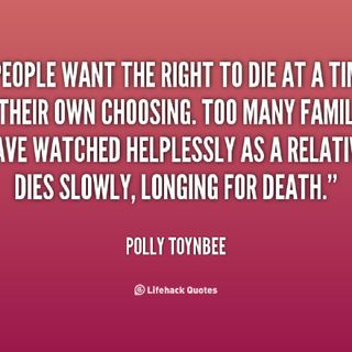 THE RIGHT TO DIE ACT