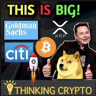 Elon Musk SNL Dogecoin & Crypto Pump? Goldman Sachs & Citi Bank Crypto Services - Miami Mayor Buys Bitcoin & Ethereum!
