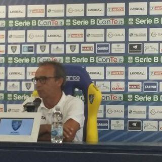 Conferenza stampa Pasquale Marino alla vigilia di Frosinone Benevento