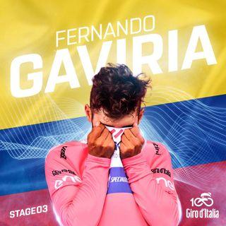 Fernando Gaviria logra la Maglia Rosa en el Giro 100°