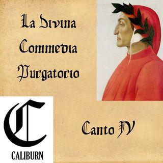 Purgatorio - canto IV - Lettura e commento