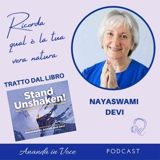 1_Il segreto di vivere senza paura è: ricorda il tuo vero potenziale - pensiero di Nayaswami Devi