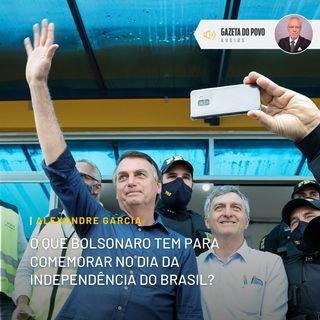 O que Bolsonaro tem para comemorar no dia da Independência do Brasil?