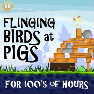 Flinging Birds at Pigs for Hours
